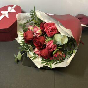 Blomsterbuket i slagelse med udbringning
